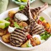 Indian spiced lamb cutlets