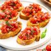 Tomato and Basil Bruchetta